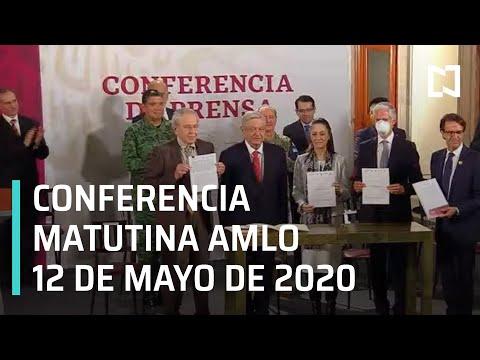 Conferencia matutina AMLO/ 12 de mayo de 2020