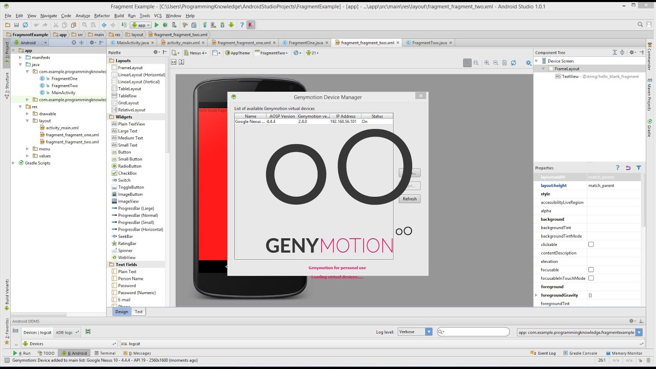 How to Install and Setup Genymotion for Android Studio ( GenyMotion Android  Emulator )