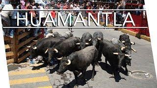 HUAMANTLA - Casi nos llevan los toros