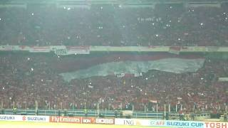 Indonesia Raya - AFF 2010 Suzuki Cup Final
