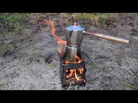 Bushcraft Barista Coffee Espresso Wood Fire