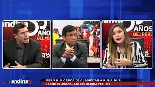 Transmisión en vivo -  La Revista Deportiva -  Andina Radio Online