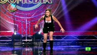El Club de la comedia - Sara Escudero &#39A las chicas nos gustan los chicos con el puntin ...