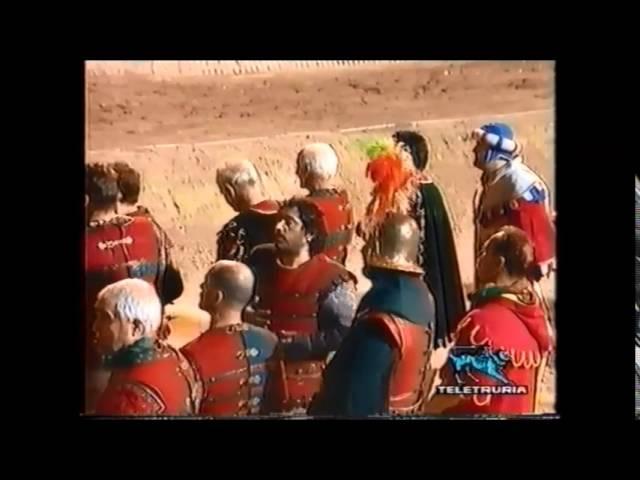 100a Giostra del Saracino - 9 Settembre 2000 - Sintesi