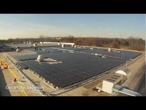 GeoPeak Energy Commercial Going Solar Time Lapse