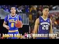 Lonzo Ball vs. Markelle Fultz NBA Draft Breakdown!