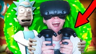 РИК И МОРТИ ПОКАЗАЛИ МНЕ КОНЕЦ СВЕТА!!! (Rick and Morty: Virtual Rick-ality)