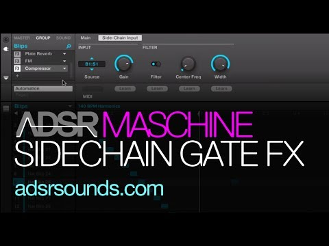 Maschine 2 - Sidechain Gate Effects - How to Tutorial
