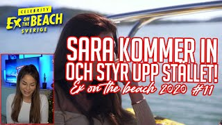 REAGERAR PÅ EX ON THE BEACH | EP 11 *SARA BOLAY SVARAR PÅ ERA FRÅGOR*