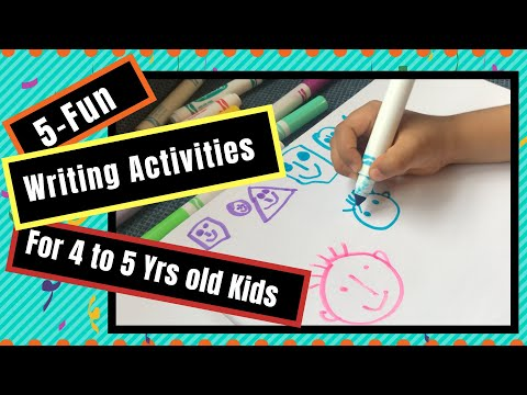 Sight Word Writing Activities for Preschoolers & Kindergarteners| Reading Readiness kids Activities
