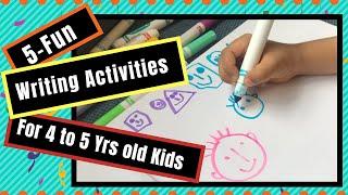 Sight Word Writing Activities For Preschoolers & Kindergarteners| Reading Readiness Kids Activities
