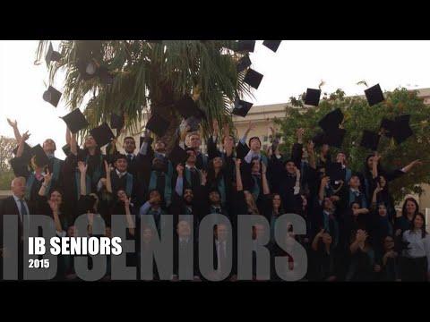 Seniors of Deira International School 2015