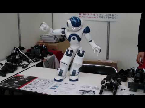 Robot dances like Michael Jackson!