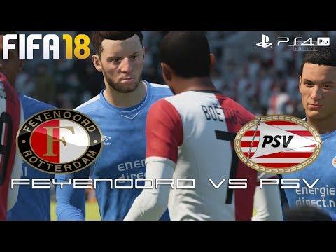 Fifa 18 (ps4 pro) feyenoord v psv eindhoven |  eredivisie prediction | 25/2/2018 | 1080p 60fps