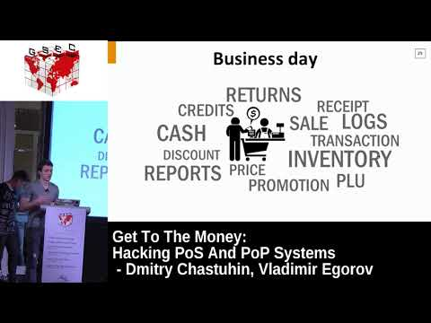 #HITBGSEC 2017 Conf D1 - Get To The Money: Hacking PoS And PoP Systems - D. Chastuhin & V. Egorov