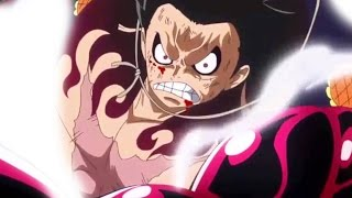 OMG DAT FIGHT! One Piece 837 Manga Chapter ワンピース Reaction/Review -- Luffy Gear 4th Vs Cracker
