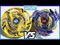Maximus Garuda .8F.Fl vs Genesis Valtryek .6V.Rb - Beyblade Burst Hasbro ベイブレードバースト