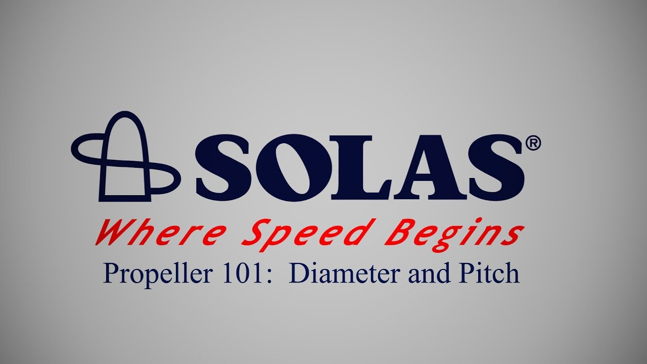 Propeller 101: Diameter and Pitch
