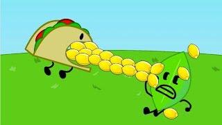BFDI & II: Leafy vs Taco