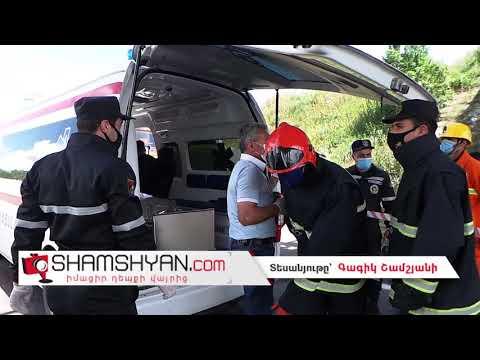 Խոշոր ու ողբերգական ավտովթար Կոտայքի մարզում. բախվել են Nissan Tiida-ն ու Mercedes Viano-ն