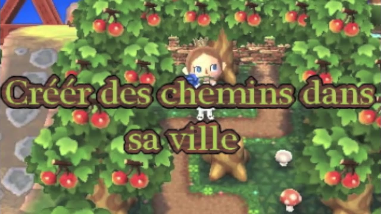 Tuto 1 Creer Des Routes Chemins Allees Animal Crossing