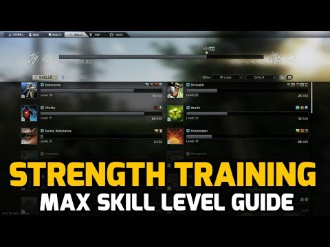 Strength Skill Max Level Guide - Efficient and Easy Method - Escape