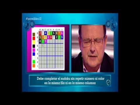 Un Increíble CamPeón - Sudoku de cifras y colores.