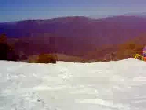 Snowboarding Mt Buller Victoria, Australia