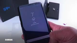 Setting Up Samsung Galaxy S9 Plus 128GB Midnight Black