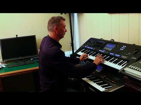 Percy Faith - Theme From A Summer Place  Yamaha Genos Roland G70 by Rico