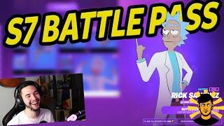 Fortnite Season 7 Battle Pass reakcióm!