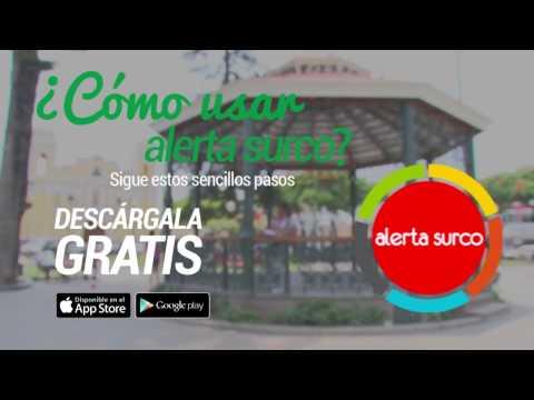 Municipalidad de Santiago de Surco: Descarga y usa la APP Alerta Surco