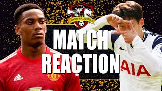 Manchester United Embarrassed😡Manchester United 1-6 Tottenham Match Review #OLEOUT