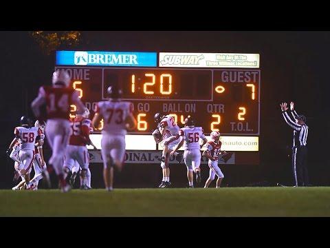 Alexandria Cardinal Football Playoff Hype Video 2016