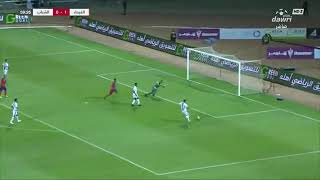 هدف الشباب الأول ضد الفيحاء (آرثر كايكي) في الجولة 2 من دوري كأس الأمير محمد بن سلمان