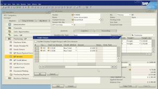 SAP Business One How To Allocate Incoming Freight to Inventory