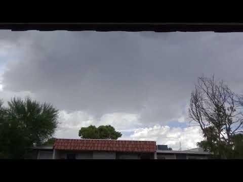 Thunderstorm Over Northwest Las Vegas August 11, 2017