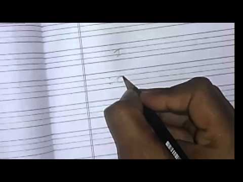 Learn How to Write Cursive a in Handwriting From cursive alphabet Channel