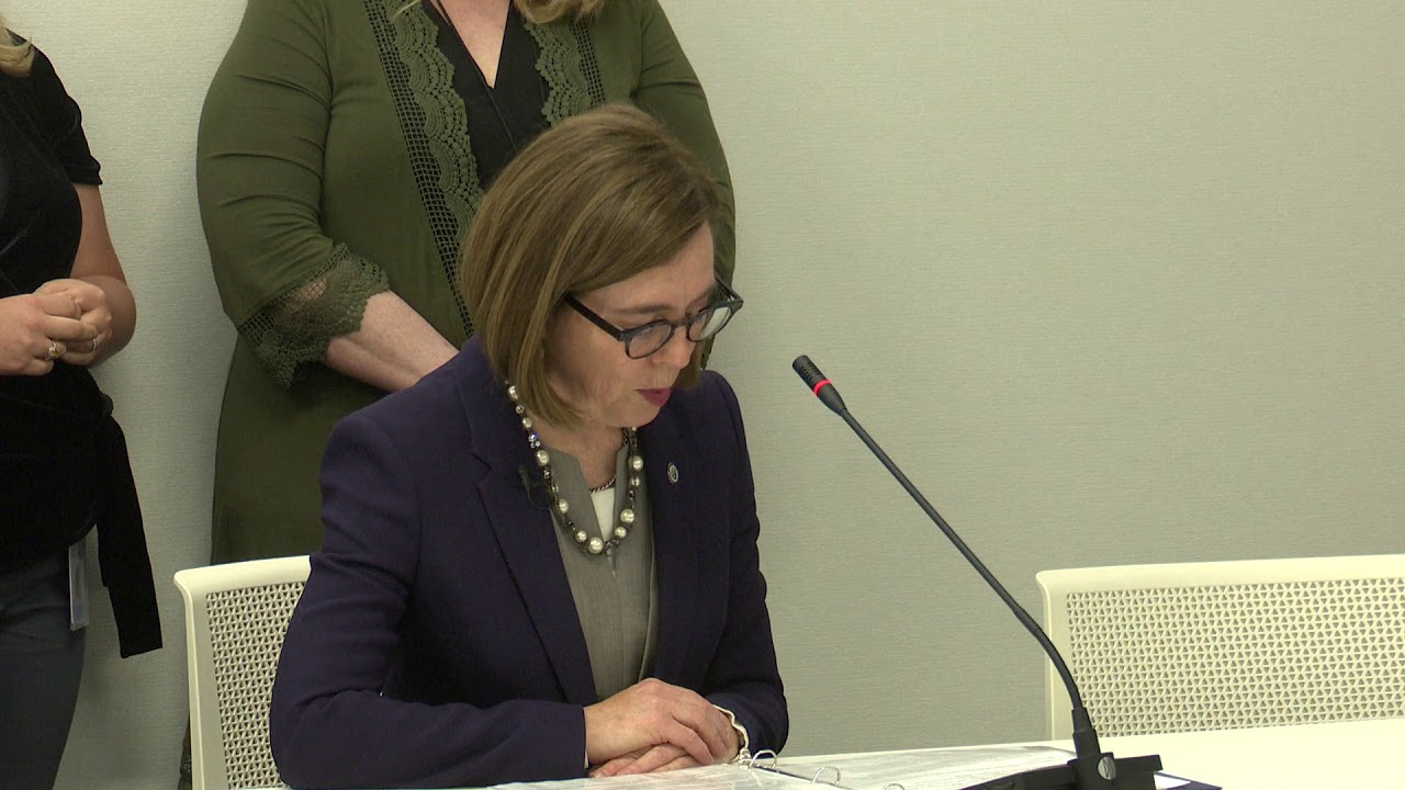 Gov. Kate Brown Issues Order Directing Oregonians To 'Stay Home'