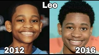 Lab Rats antes e depois    Lab Rats Before and After