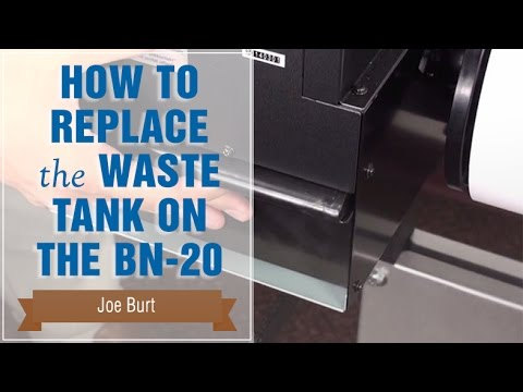 How to Replace the Waste Tank on the BN-20