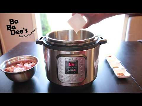 Quick and easy Instant Pot Chicken Wings