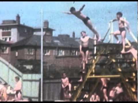 Gosport swimming pool around 1959