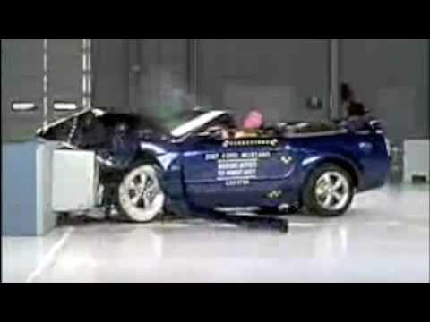 Ford Mustang Crashtest