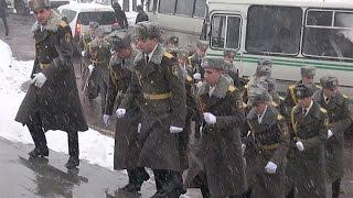Armenia Marks Army Day