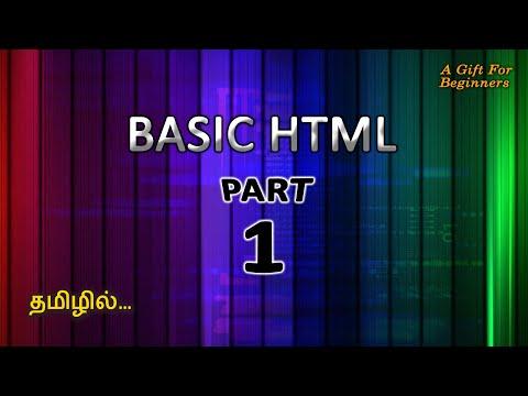 Basic Html Coding - Part 1