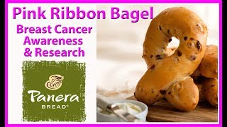 Panera Bread | Pink Ribbon Bagel | Breast Cancer Awareness and Research | JKMCraveTV