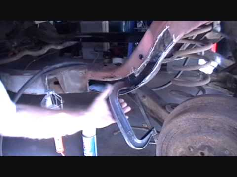How To Repair A Rusted Out Frame Partial Wmv Youtube
