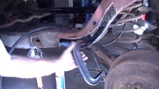 How To Repair a Rusted out Frame   (partial).wmv