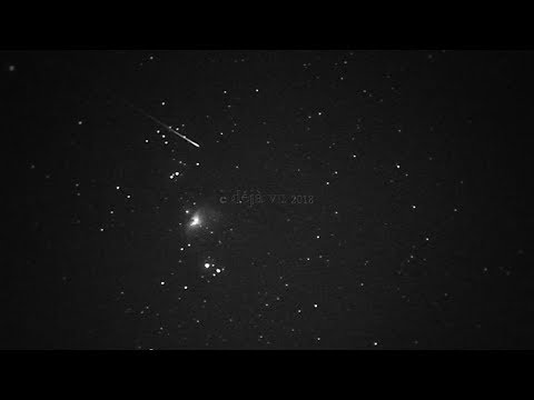 Orion Nebula M42 & Satellite Tracking & UFO Hunting With Night Vision